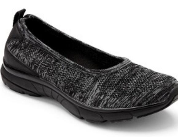 Vionic Shoes - Vionic Black Flex Aviva Athletic Sport Slip OnShoe